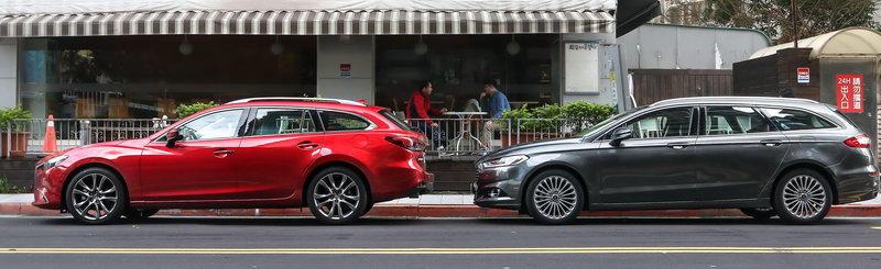 恋上旅行车 ford mondeo wagon vs. mazda 6 wagon